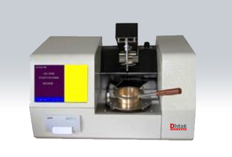 Fully automatic open flash point tester